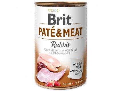 1367 brit konzerva pate meat rabbit 400g