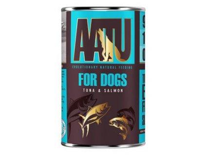 14168 aatu dog tuna and salmon konzerva 400 g