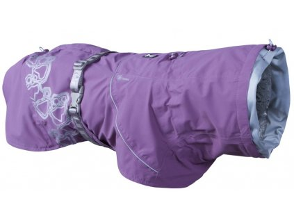 Pláštěnka Hurtta Drizzle coat fialová5