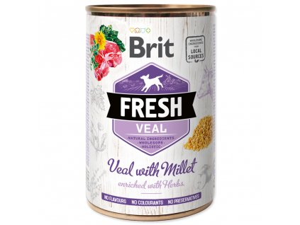 1436 brit fresh veal with millet 400 g