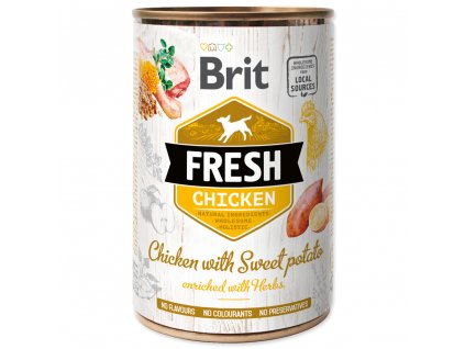 1439 brit fresh chicken with sweet potato 400 g