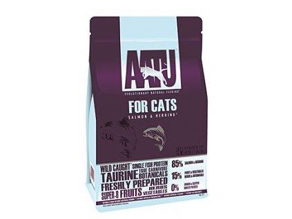 AATU kočka 85/15 losos & sleď 3kg