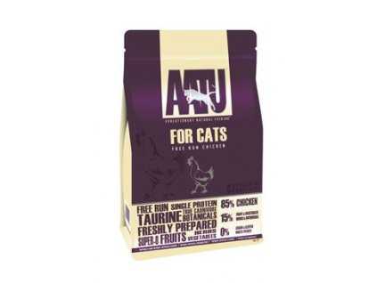 AATU granule pro kočky 85/15 Kuřecí 1 kg