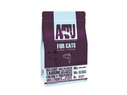 AATU kočka 85/15 Losos & Sleď 1kg