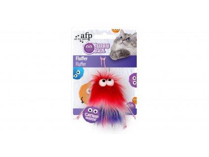 Chlupatá hračka Fluffer AFP Furry Ball se šantou