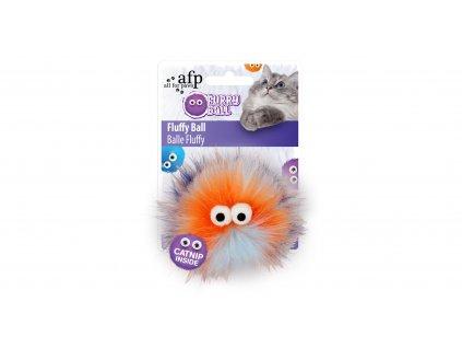 Chlupatý míček Fluffy AFP Furry Ball se šantou