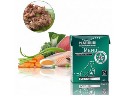 1460 1 platinum natural menu pure fish 375 g