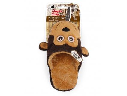 Plyšový pantofel AFP Doggies Shoes opice