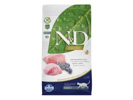 N&D Prime Cat Adult Lamb & Blueberry 1,5 kg