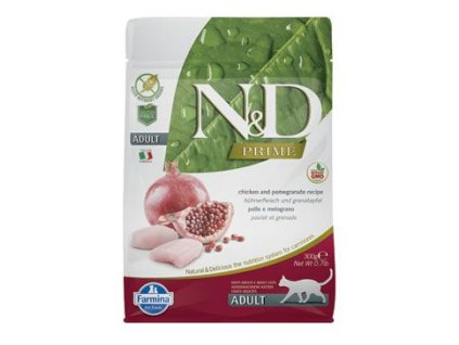 14654 n d prime cat adult chicken pomegranate 300 g