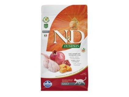 N&D GF Pumpkin Cat Quail & Pomegranate 5 kg