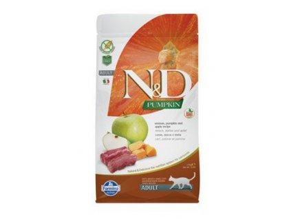 N&D GF Pumpkin Cat Venison & Apple 5 kg