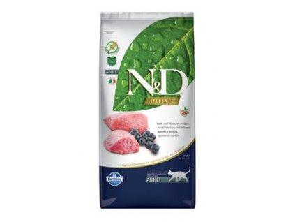 N&D Prime Cat Adult Lamb & Blueberry 5 kg
