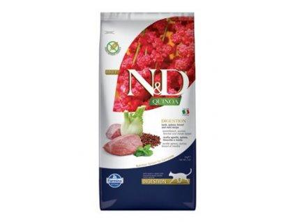 N&D GF Quinoa Cat Digestion Lamb & Fennel 5 kg