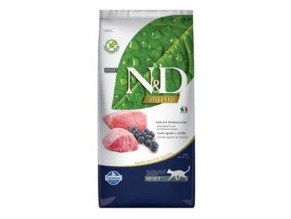 N&D Prime Cat Adult Lamb & Blueberry 10 kg