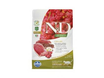 N&D GF Quinoa Cat Urinary Duck & Cranberry 300 g
