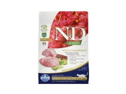 N&D Quinoa CAT Weight Management Lamb & Broccoli 300g