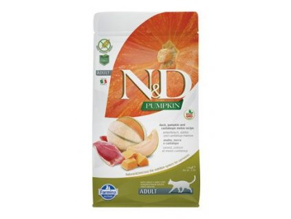 N&D Pumpkin CAT Duck & Cantaloupe melon 1,5kg