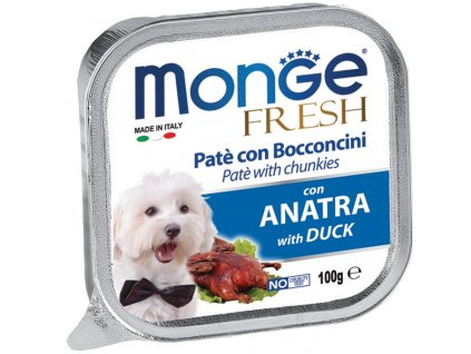 1487 monge fresh dog kachna 100g