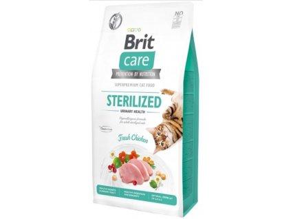Brit Care Cat Grain Free Sterilized Urinary Health 0,4 kg