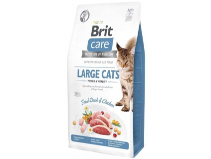 Brit Care Cat Grain Free Large cats Power & Vitality 2 kg1