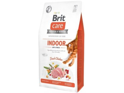 Brit Care Cat Grain Free Indoor Anti stress 2 kg1