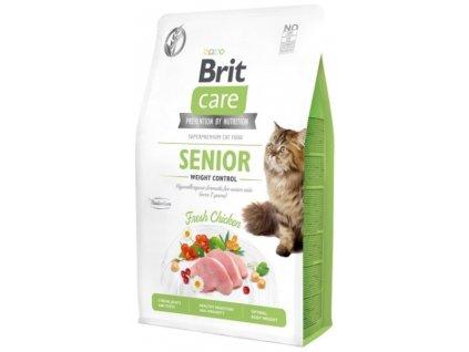 Brit Care Cat Grain Free Senior Weight Control 2 kg1