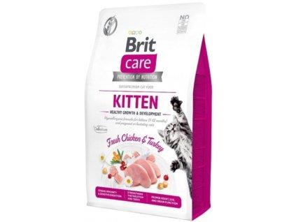 Brit Care Cat Grain Free Kitten Healthy Growth & Development 0,4 kg1