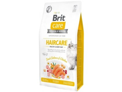 Brit Care Cat Grain Free Haircare Healthy & Shiny Coat 2 kg1