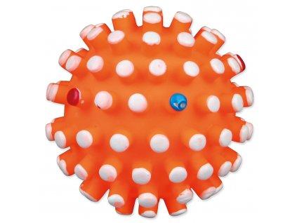 Hračka míček ježek vinyl 6 cm