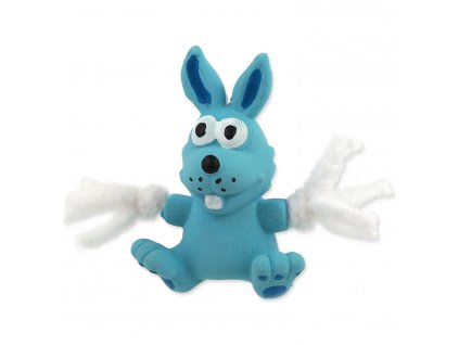 Hračka Dog Fantasy latex králík modrá