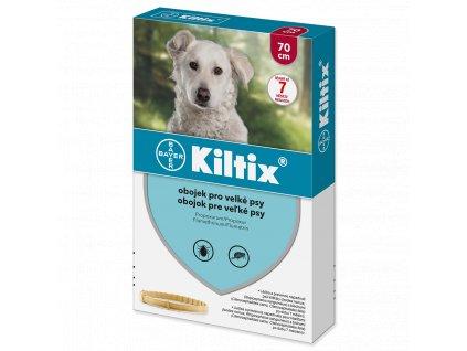 Kiltix antiparazitní obojek pro velké psy 70 cm