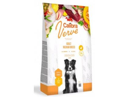 Calibra Dog Verve Grain Free Adult Medium Chicken&Duck 12 kg