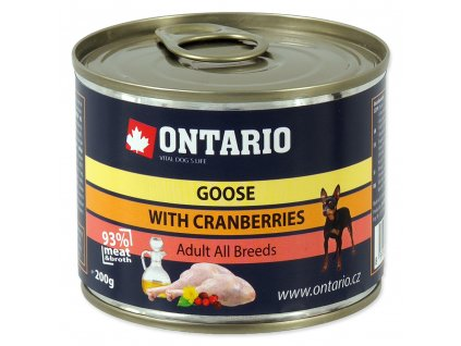1553 ontario konzerva mini goose cranberries dandelion and linseed oil 200 g