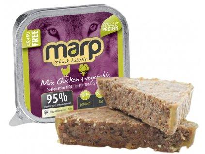 Marp mix vanička pro psy kuře+zelenina 100 g