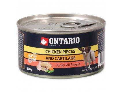 1556 ontario konzerva junior chicken pieces cartilage 200 g