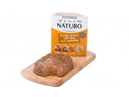 Naturo Dog Adult Chicken & Lamb & Rice with Vegetables 400 g1