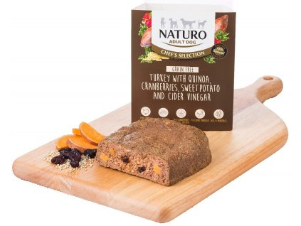Naturo Chefs Dog Adult Turkey & Quinoa GF 400 g