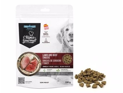 Tapas Gourmet snack for Dog Lamb and Beef 190 g