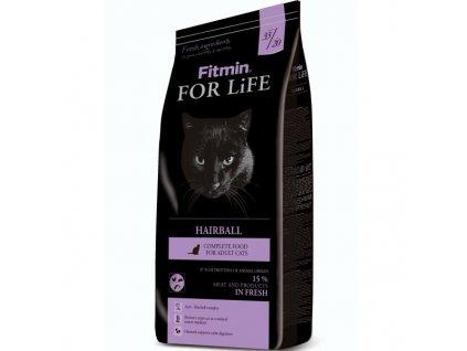 Fitmin Cat For Life Hairball 1,8 kg