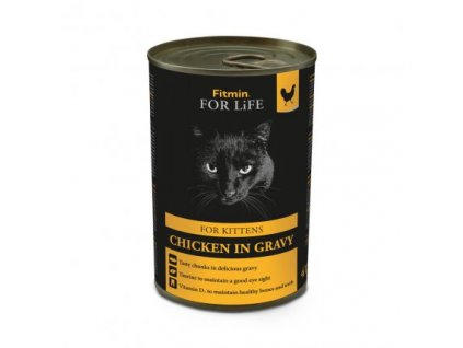 Fitmin Cat For Life konzerva Kitten Chicken 415 g