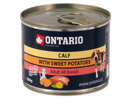 1592 ontario konzerva mini calf sweetpotato dandelion and linseed oil 200 g