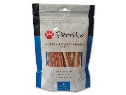 Perrito Chicken and Pollock Sandwich 100 g