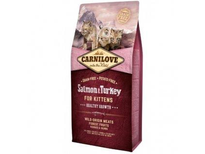 Carnilove Cat Salmon & Turkey for Kittens HG 6 kg
