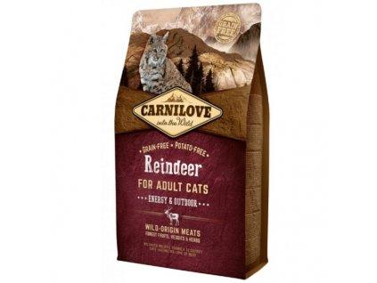Carnilove Cat Reindeer for Adult Energy & Outdoor 2 kg