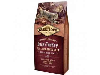 Carnilove Cat Large Breed Duck&Turkey 6 kg