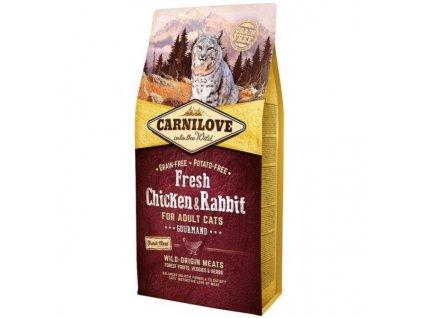 Carnilove Cat Fresh Chicken & Rabbit for Adult 6 kg