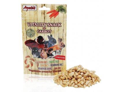 Apetit Vitality snack s mrkví 80 g