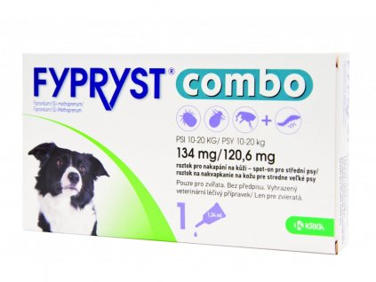 Fypryst Combo spot on dog M do 20 kg