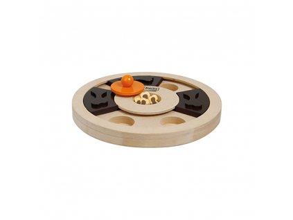 Karlie Interaktivní dřevěná hračka pro psa Hera 25 x 5 cm